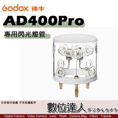【數位達人】Godox 神牛 AD400Pro 專用 400WS 閃光燈管 / 燈泡 閃光燈 攝影燈 配件 外拍燈 閃燈