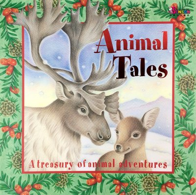[邦森外文書] Animal Tales - A Treasury of Animal Adventures 精裝書