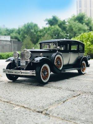 車型模具 車模型 玩具  免運AUTO WORLD 1:18新品 1931年凱迪拉克Peerless Master汽