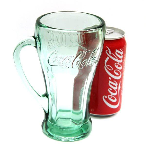 (I LOVE樂多)(日本進口)可口可樂玻璃材質暢飲杯Coca-Cola Genuine Mug