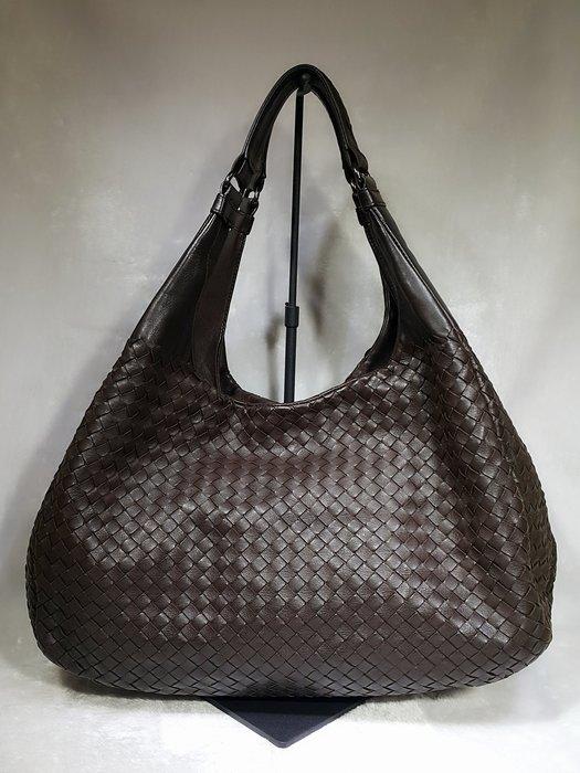 *旺角名店* ㊣ Bottega Veneta BV 咖啡色羊皮編織 元寶包 側背包 肩背包 和尚包
