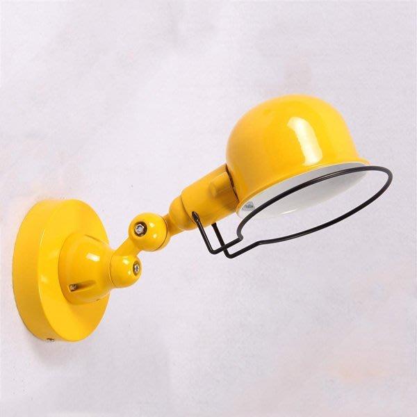 5Cgo【燈藝師】含稅會員有優惠 39277954401 小號美式復古鄉村床頭燈歐式創意陽臺過道機械手臂壁燈