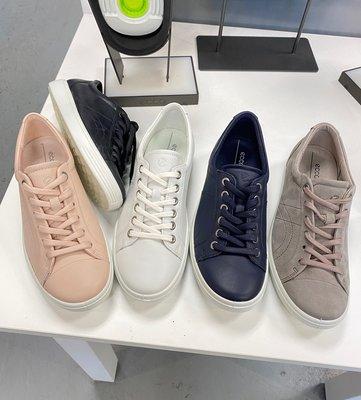 美中購物葉小飛美國代購 紐約直郵 ECCO/愛步 女士休閒板鞋
