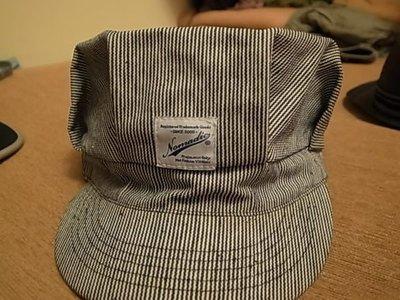 NOMADIC 灰色 黑白條紋帽!! 含運!!!