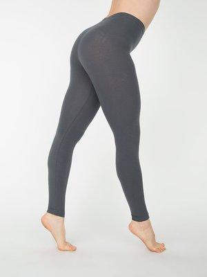 【OhOh】美國 American Apparel 8328 深灰色素色純棉內搭褲