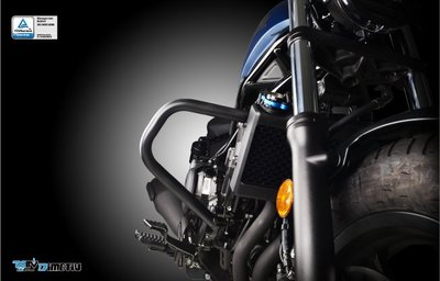 【R.S MOTO】HONDA REBEL 500 戰士款 引擎保桿 噴砂黑 DMV