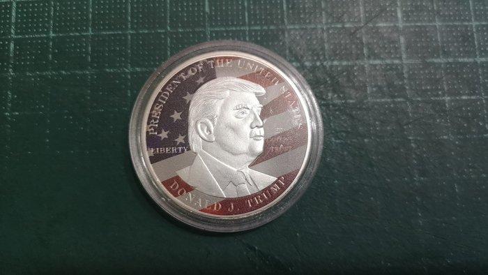 United States (美國) 川普紀念銀章,直徑40mm, 重量約30公克 #190974