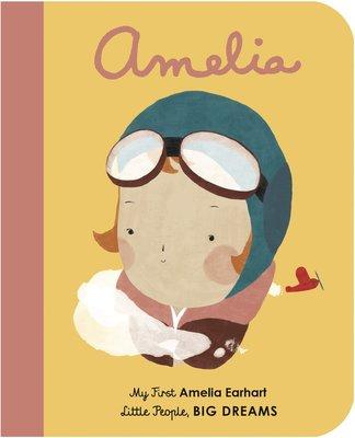 *小貝比的家*AMELIA EARHART/MY FIRST LITTLE PEOPLE/硬頁/3~6歲