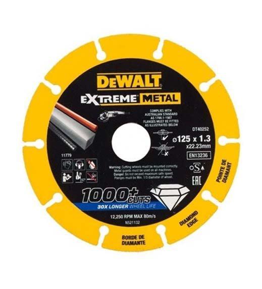 """【大黃工具】美國 DEWALT 得偉 規格 5"""" 鑽石鋸片 5吋 金屬鋸片 切割鋸片 鐵管白鐵 金屬切片 DT40252"""