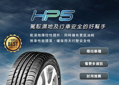 三重近國道 ~佳林輪胎~ 瑪吉斯 HP5 205/55/16 四條合購/條 四條含3D定位 另售 SP9 ZE914