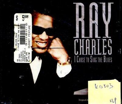 *真音樂* RAY CHARLES / I CHOSE TO SING 二手 K12503 (下標賣)