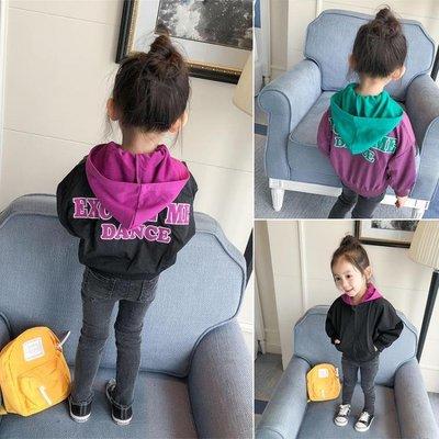 女童外套連帽秋裝新款寶寶兒童中小童嬰兒春秋上衣1-2-3歲4
