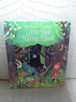 外文/童書/遊戲書/小紅帽/Little red riding hood