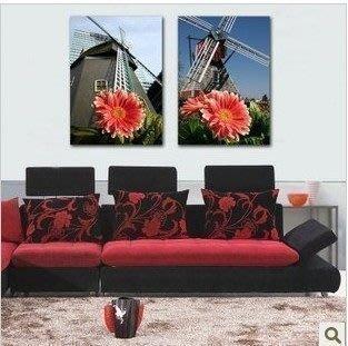 【優上精品】現代簡約過道裝飾畫歐式家居無框畫壁畫走廊抽象掛畫墻畫2(Z-P3200)