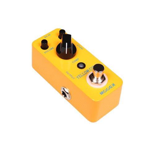 ☆ 唐尼樂器︵☆ Mooer Micro Series Yellow Comp 電吉他/電貝斯 Bass 經典光電壓縮效果器