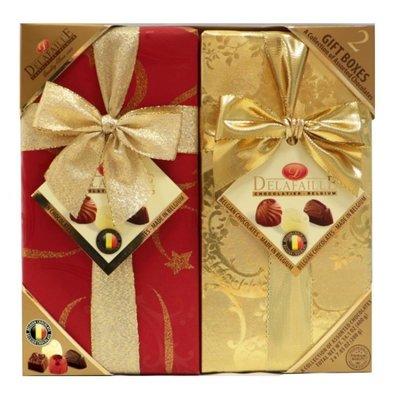 (漾霓)-代購~ Delafaille 綜合巧克力禮盒 200公克 X 2入-111515 (代購商品下標詢問現貨)
