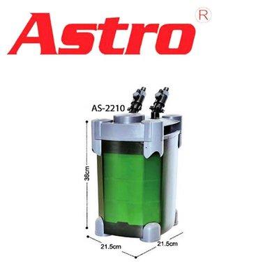 蝦兵蟹將【中國 ASTRO-阿姆斯壯】KW401209 新二代 外置式圓桶過濾器 2210型【708L/H】動力桶
