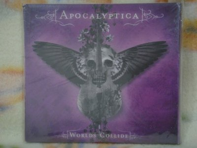 Apocalyptica cd=Worlds Collide (2007年發行,全新未拆封)