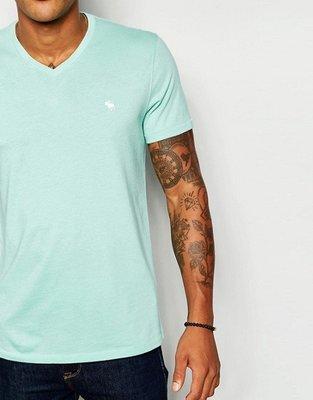 『BAN'S SHOP』Abercrombie & Fitch A&F 短袖T-shirt薄荷小鹿 英國購回 保證真品 限時9折