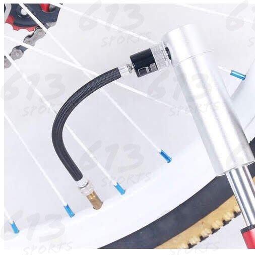 自行車充氣筒延長嘴 延長管 長度15.5公分 打氣筒延伸管 打氣筒 打氣管 氣嘴加長管 613sports