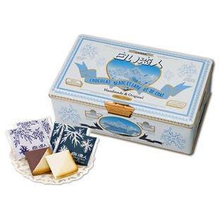 *B Little World * 日本北海道 白色戀人巧克力餅乾(54入) / JP連線/ 代購代買