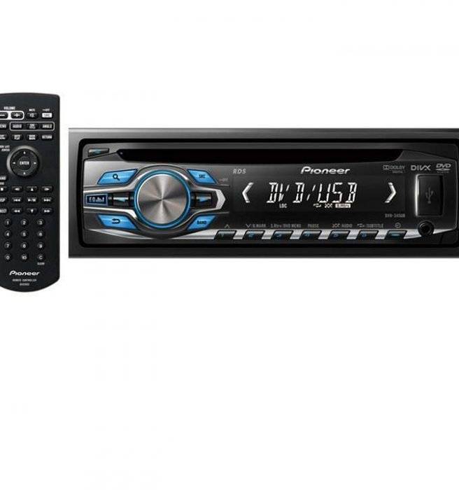 PIONEER先鋒 多媒體 DVD/CD/USB Receiver with Front AUX DVH-345UB