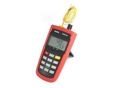 TECPEL 泰菱 》DTM-323 高精密度溫濕度計/溫溼度計(濕球.乾球.露點) 溫濕度計 K型溫度計