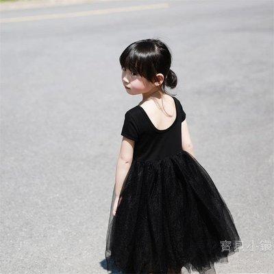 女童洋裝 兒童超仙紗裙2019夏季女童連身裙春秋薄款洋氣公主網紗仙女仙氣BBXZ17797