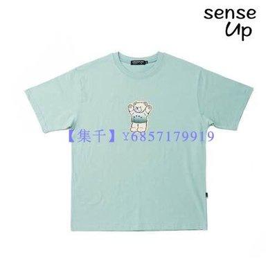 【集千】夏韓國A PIECE OF CAKE設計師品牌可愛小熊印花T恤