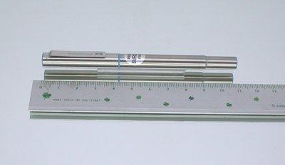 全新庫藏(30年前的價錢 Nt:600) 日本 PILOT百樂全鋼迷你鋼筆藍桿+吸墨器