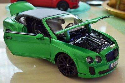 {王者降臨}炫綠板 SUPER SPORTS賓利超級運動版敞篷車共有3款空運到!!!!!!!!!!
