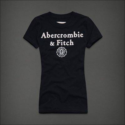 🇺🇸 Abercrombie & Fitch Women Tee T-Shirt  女生 刺繡貼布 短袖T恤
