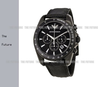美國新品正品Armani阿瑪尼 手錶 三眼計時日曆防水男士石英錶AR6132/AR6131 亞曼尼 腕錶