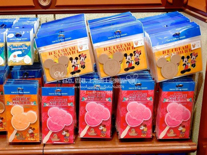 Miss莎卡娜代購【東京迪士尼樂園】﹝預購﹞米奇 米妮 冰棒造型 便條紙
