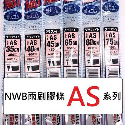 [機油倉庫]NWB 26吋 雨刷更換膠條 (約650mm) 【5.6mm AS】含稅價 附發票 新北市