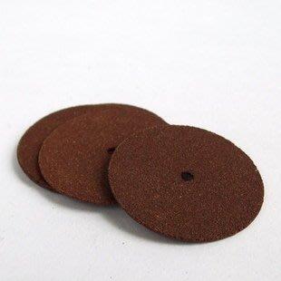 [已含稅] SY微型電鑽配件砂輪斷開切片樹脂切片 無齒鋸 直徑25mm (5個一拍) 台北市