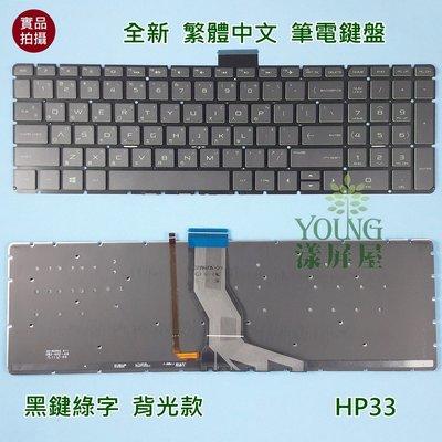 【漾屏屋】含稅 惠普 HP 15-AK014TX 15-AK015TX 15-CB011TX 全新 綠字 背光 筆電鍵盤 新北市