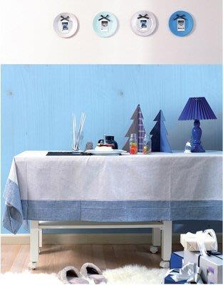小妮子的家@韓國進口廚房浴室防水DW22 藍色木紋自粘瓷磚貼/牆貼/玻璃家具貼~大
