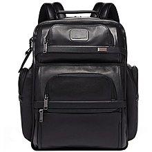 正品新款原廠 TUMI/途米 JK291 男女款ALPHA3牛皮真皮休閒商務雙肩包大容量旅行15英寸電腦後背包
