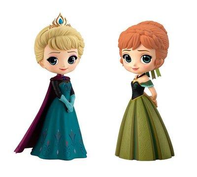 【煥達國際】日版Q posket Disney 冰雪奇緣 愛紗 安娜禮服版 一般色景品全2種