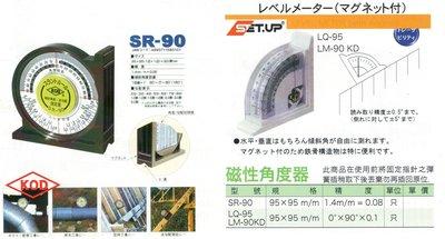 KOD SET.UP 磁性角度器 SR-90/LQ-95/LM-90KD