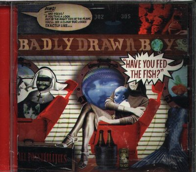 K - Badly Drawn Boy - Have You Fed the Fish? - CD