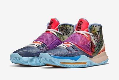 "Nike Kyrie 6 Pre-Heat ""Heal The World"" CN9839-403 男鞋"