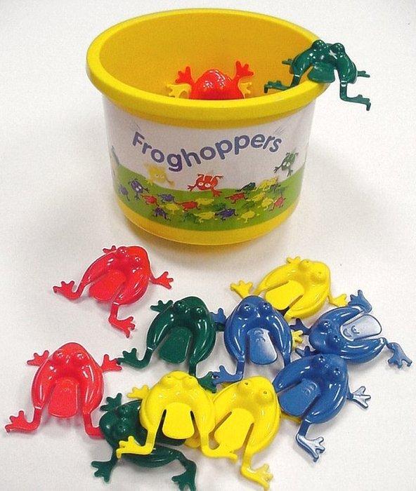 貝比的家-瑞典 Viking Toys 維京玩具【彩色小青蛙(桶)-12隻】-特價169元
