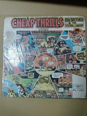 長春舊貨行 BIG BROTHER & THE HOLDING COMPANY -Cheap Thrills (Z55)
