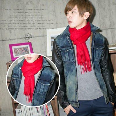 柒零年代For Now【N8384J】冬季嚴選必備單品隨身好攜帶小版素面保暖流蘇圍巾