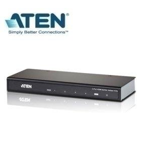 @電子街3C 特賣會@全新ATEN宏正 VS-184A VS184A 4埠HDMI影音分配器