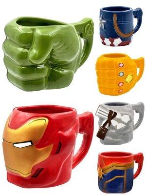 7-11 超級英雄 漫威 造型馬克杯 小全套共6款