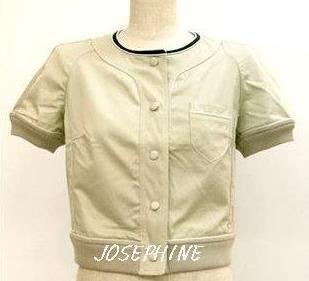 喬瑟芬【SEE BY CHLOE】4折出清$6800~棉質短版外套~全新真品