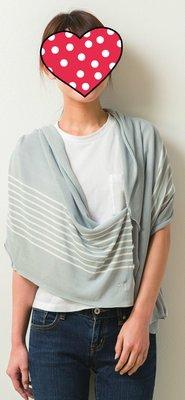 ❮Bella日貨❯ 現貨 日本 SHF 抗UV 防曬涼感3WAY披肩 圍巾 小外套 代批發